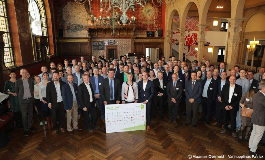 Signatories of the Flemish Green Deal Shared Mobility