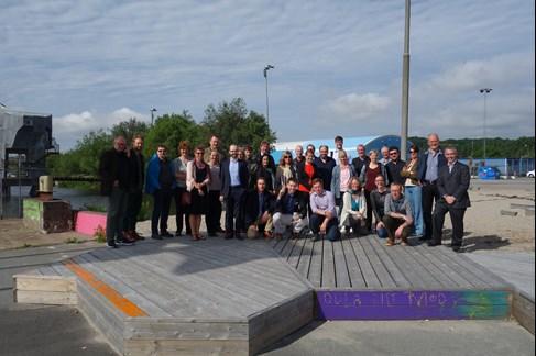 BEGIN partners at Frihamnen/Jubileumsparken