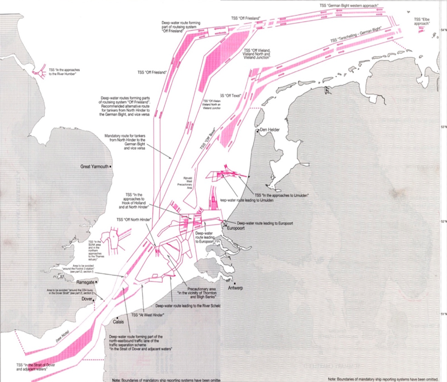 International routing measures for shipping (IMO), Interreg