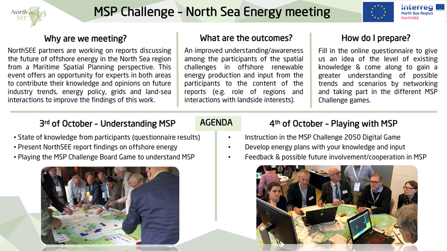 Interactive stakeholder meeting on energy developments