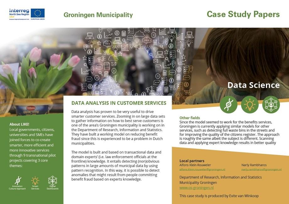 Data Science, Interreg VB North Sea Region Programme