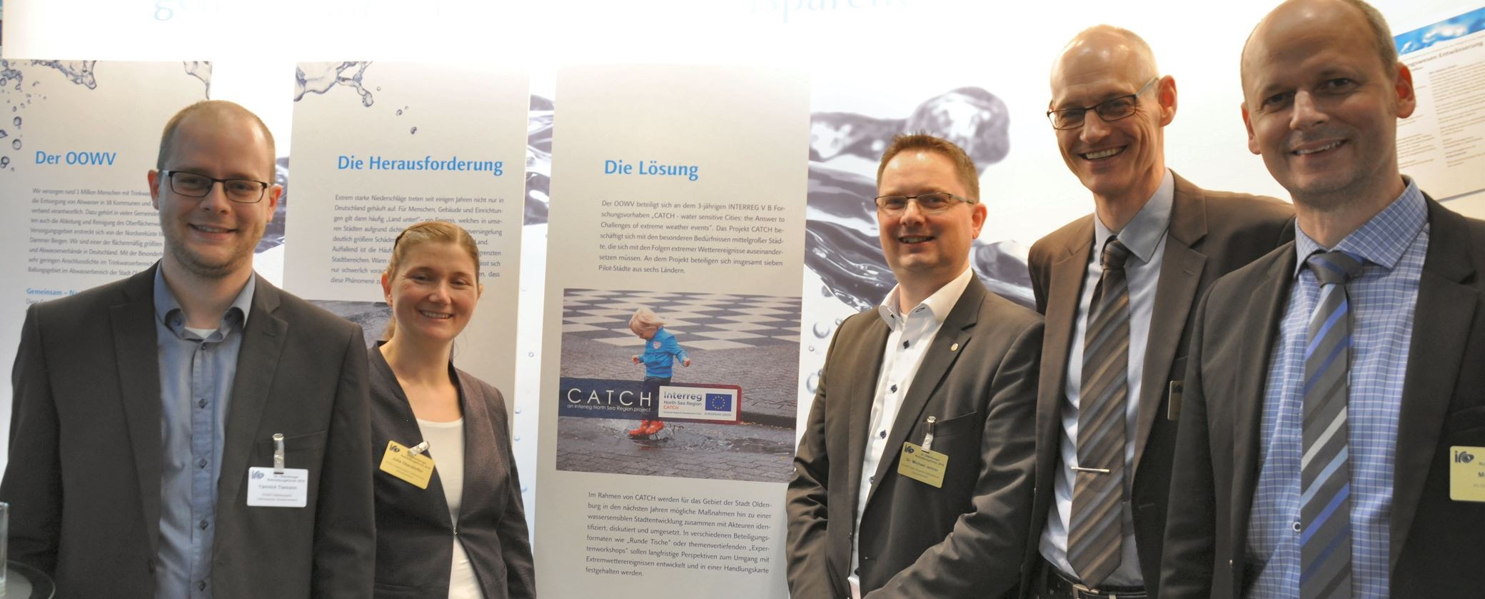CATCH project present at the 33rd Oldenburg Pipeline Forum, Interreg